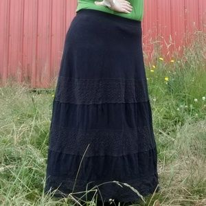 18/20 Lane Bryant black skirt